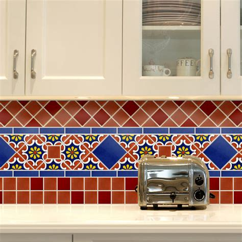 mexican tile kitchen backsplash talavera tile collection talavera tile