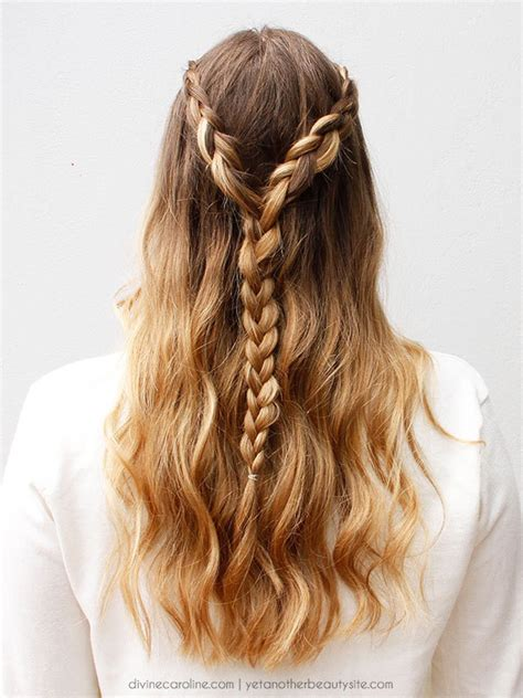 braided updo hairstyle party half up half down for the lace braided half updo for any summer party more com