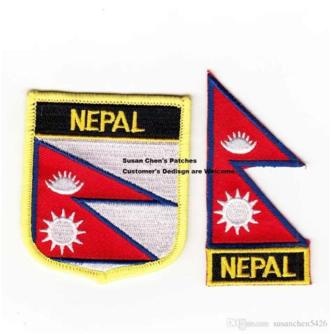 Nepel Besi 3 G Brand 2017 nepal flag embroidery iron on patch set from susanchen5426 3 01 dhgate
