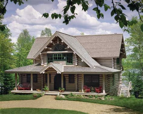 alpine log homes storybook charm log home