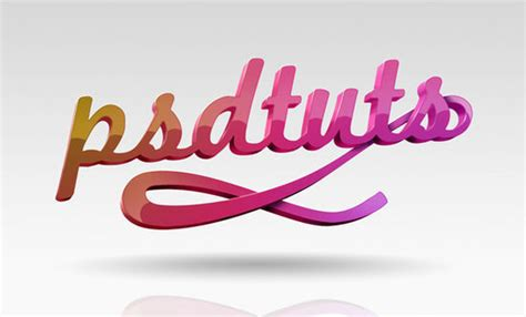 tutorial 3d typography illustrator 3d text effects ultimate collection of photoshop tutorials