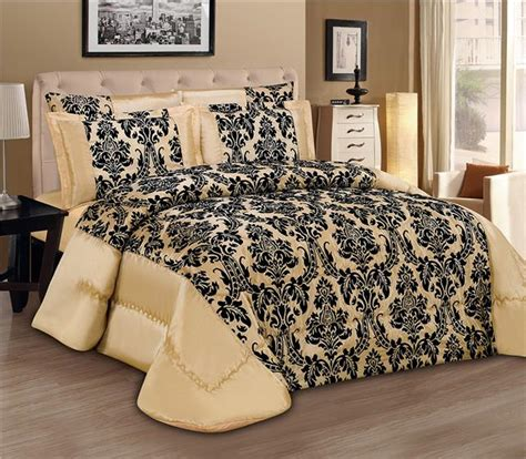 king bed spread luxury 3pcs flock quilted bed spread bedspread comforter