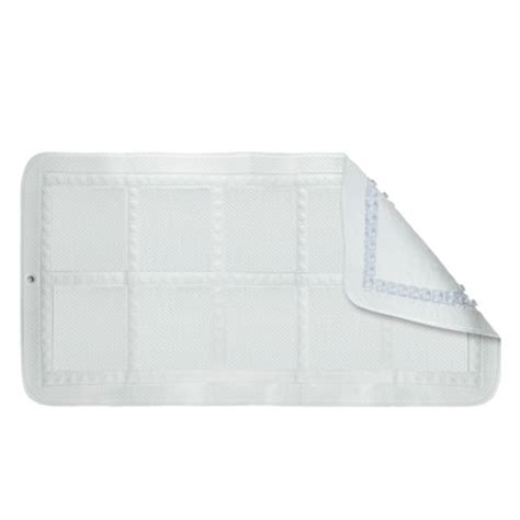 croydex hygiene n clean croydelle bath mat white from
