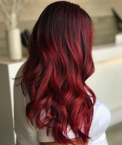 scarlet hair color 45 shades of burgundy hair burgundy maroon