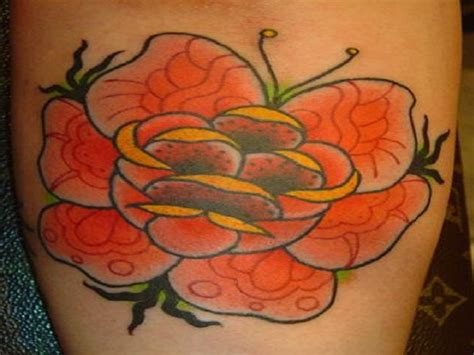 orange roses tattoo orange designs ideas inofashionstyle