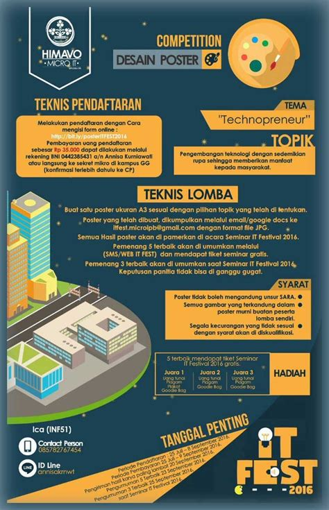 Desain Poster Lomba | centre of management