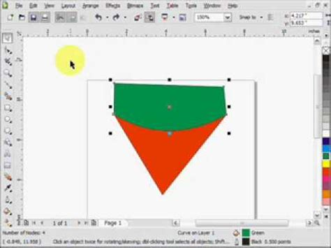 tutorial corel draw x4 basic corel draw x4 tutorial youtube