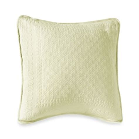 wamsutta 174 gussetted quilted european square pillow bed buy wamsutta 174 gussetted quilted european square pillow