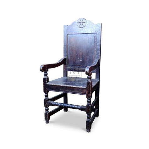 Chair With Arms by Prop Hire 187 Chairs 187 Wood Chair With Arms Keeley Hire