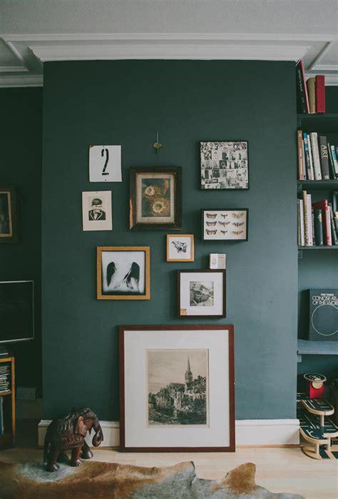 dark green walls florist anna potter s sheffield home design sponge