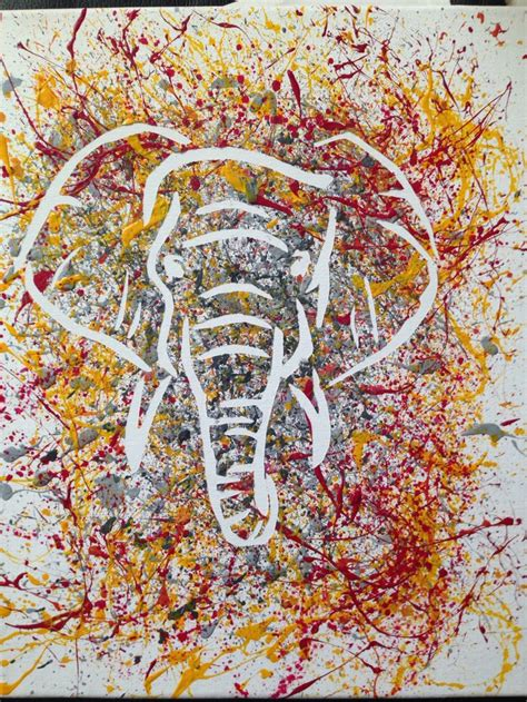 best splatter splatter paintings best 20 splatter paint ideas on