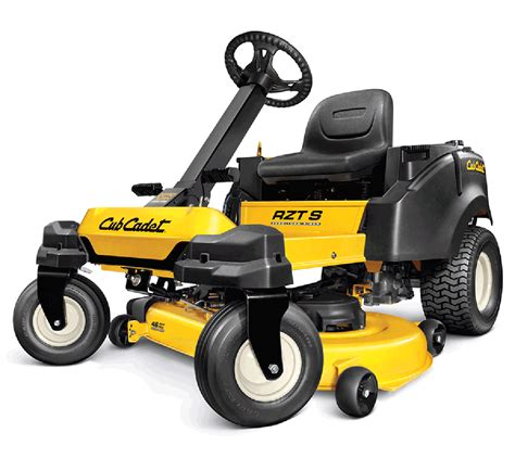 The Cadet cub cadet rzt s series zero turn mowers in the baltimore