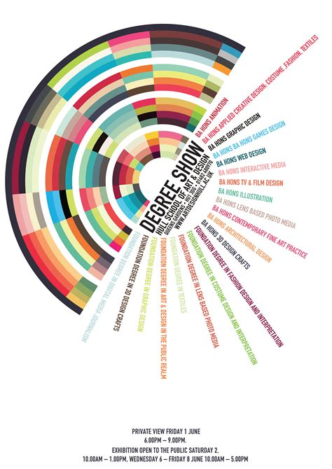 typography degree hull school of design degree show poster on behance
