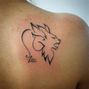 36 leo tattoos to make you proud of your zodiac sign