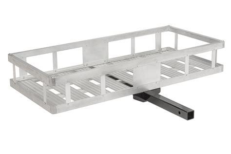 Aluminum Cargo Rack by Quadratec 174 12033 1002 Lightweight Aluminum Cargo Rack For 2 Quot Receiver Hitch Quadratec