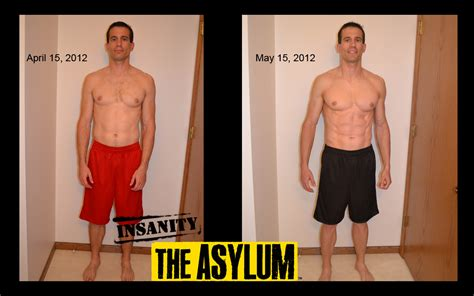 insanity workout before and after 21 fit chris