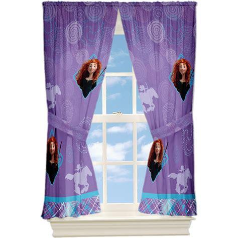 disney window curtains disney s brave microfiber window curtain panel set of 2