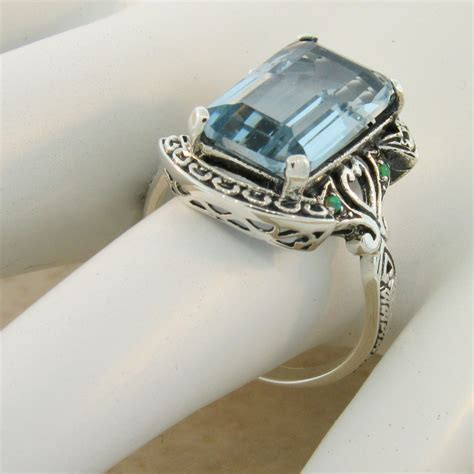925 sterling silver antique style sim