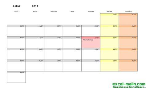 Calendrier Mensuel Calendrier Mensuel Excel Modifiable Et Gratuit Excel