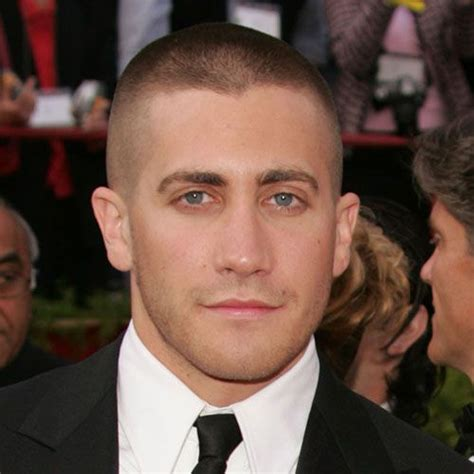 jake gyllenhaal high and tight male celebrites and actors with shaved heads