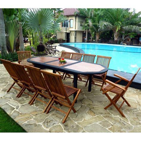table de salon de jardin 2930 salon de jardin rotin et teck meuble de jardin en promotion