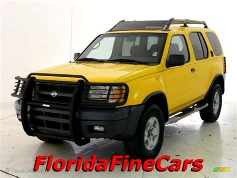 2000 solar yellow nissan xterra se v6 26210160 gtcarlot car color galleries