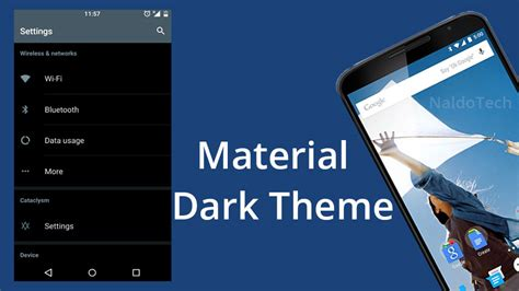 changing themes on lollipop install dark material theme for nexus 6 on 5 0 lollipop