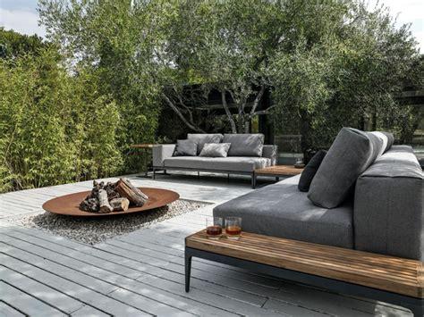 muebles para terrazas exteriores decoracion de terrazas exteriores y jardines modernos