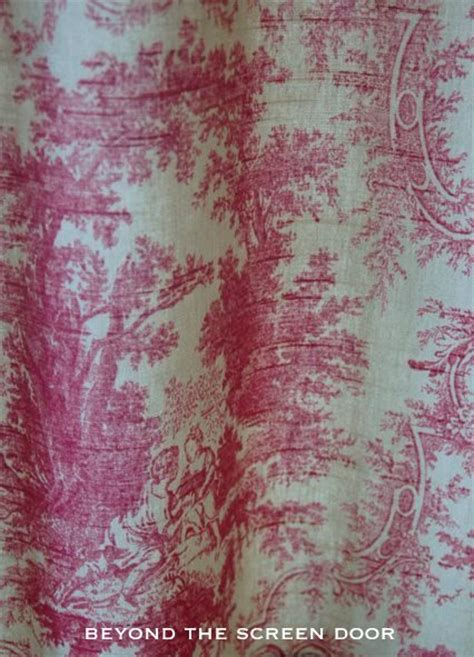 toile cafe curtains minor kitchen update and cafe curtain details beyond the