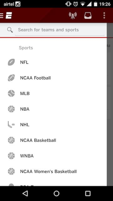 espn android app top 5 sports apps for indian fans android the www