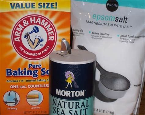 Detox Baking Soda Epsom Salt by Foot Soak Even If You Can T Soak In A Tub You Can Get