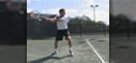 how to improve your swing how to improve your backhand swing in the game of tennis