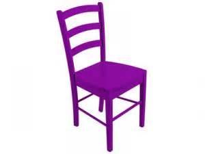 chaise juliette coloris mauve conforama soldes par