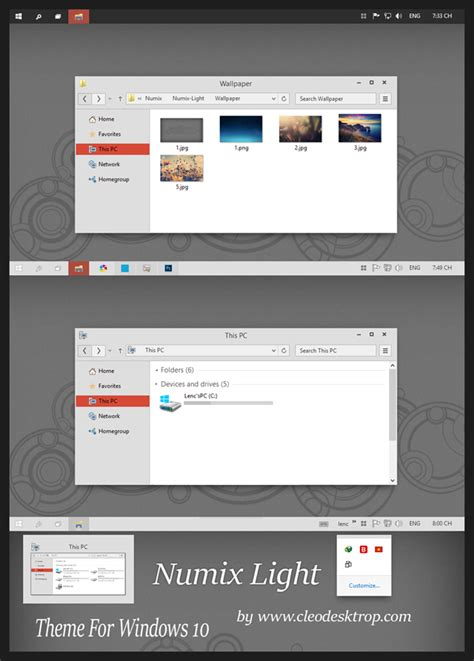 visual themes for windows 10 best windows 10 themes visual styles free download