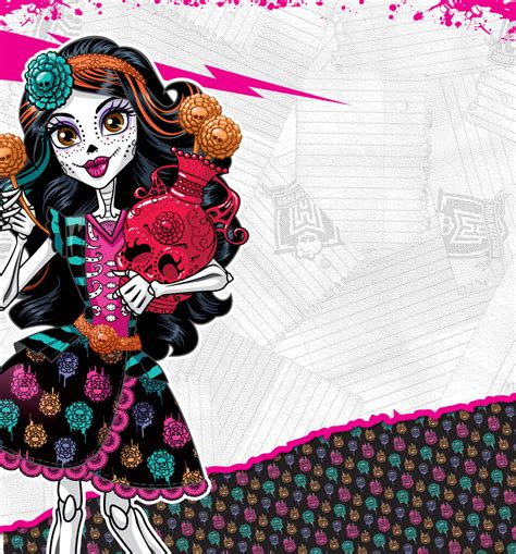 imagenes vectores monster high todo sobre monster high fondo de pantalla de skelita