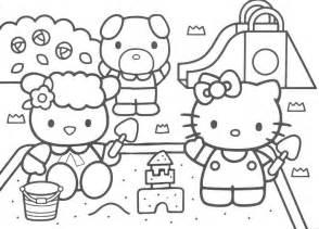coloriage hello kitty 224 imprimer a4 ancenscp