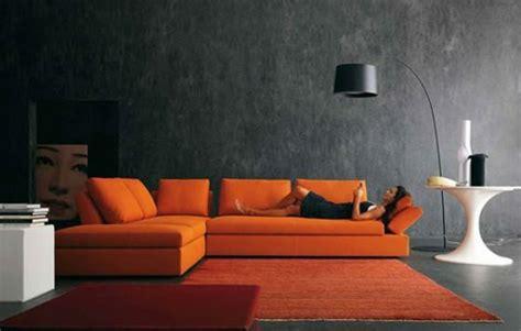 wohnzimmer orange orange wohnzimmer design 40 bilder archzine net