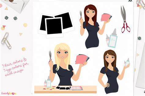 Zara E Gift Card Email - scrapbooking woman character clipart zara l159 by lovelytocu thehungryjpeg com