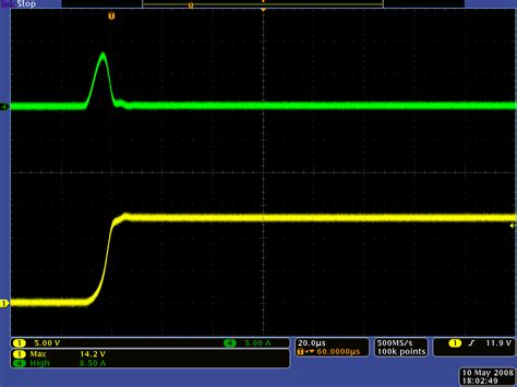 inductance measurement using oscilloscope pololu 5 limiting the magnitude of the lc spikes