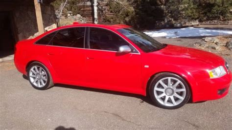 auto air conditioning service 2003 audi rs6 electronic toll collection audi rs6 2003 misano red pearl effect 59k miles late vin