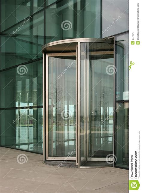 Revolving Glass Door Revolving Glass Door Royalty Free Stock Photography Image 5778547