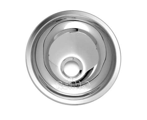 Wohnwagen Waschbecken Polieren by Waschbecken Rund Edelstahl 265mm 64031 Reimo