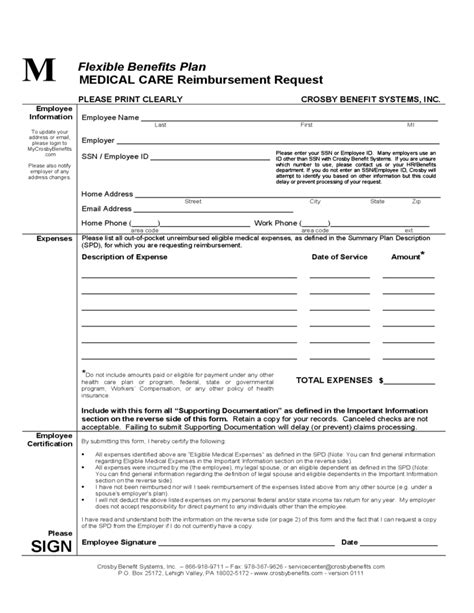 Does State Employees Get Reimbursed For Mba Classes by Care Reimbursement Request Dartmouth College