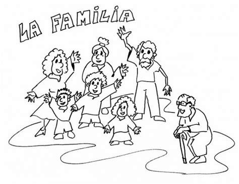 imagenes sobre la familia para dibujar pintando bonitos dibujos del d 237 a de la familia colorear