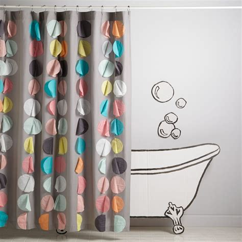 kid shower curtain kids shower curtains and bath mats the land of nod
