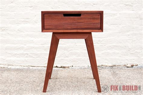 diy end table modern diy end table side table fixthisbuildthat
