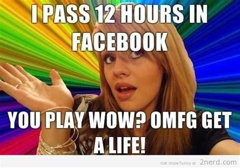 Dumb Bitch Meme - facebook hypocrite2 nerd 2 nerd2 nerd