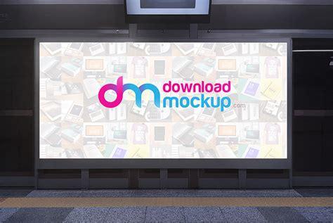 Subway Billboard Mockup Free Psd Download Download Psd Subway Poster Template