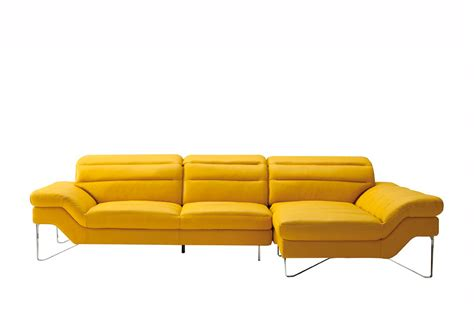 yellow leather sofas yellow leather sectional sofa vg994 leather sectionals