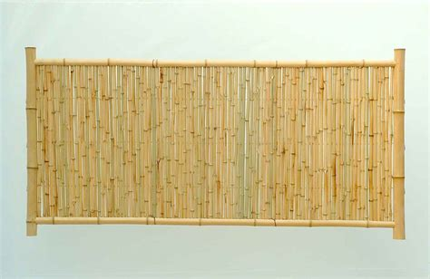 wicker panels for bamboo partitions screen for any room
